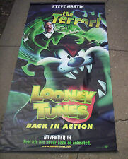 LOONEY TUNES BACK IN ACTION movie poster Steve Martin  HUGE VINYL BANNER Tasmani