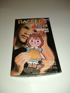 Vintage 1967 Raggedy Ann Dress Up Kit Colorforms Complete! NEVER USED