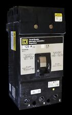 Square D KC34125 3 Pole 125 AMP 480V 3 Phase I-Line Circuit Breaker