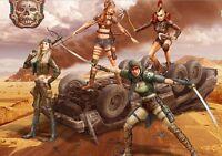 Master Box 35122 - 1/35 - Desert Battle Series Skull Clan Death Angels