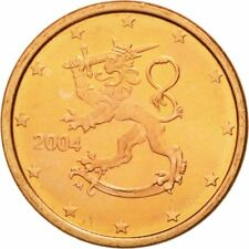 [#581242] Finland, Euro Cent, 2004, FDC, Copper Plated Steel, KM:98