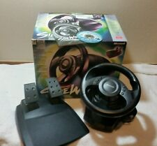 Microsoft SideWinder Force Feedback Precision Racing Steering Wheel Pedals USB