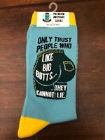 Mason Jar Label Socks Women's One Size Big Butts They Cannot Lie