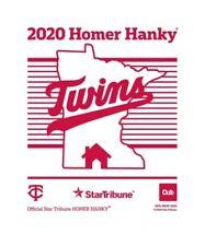 2020 MINNESOTA TWINS Homer Hanky Star Tribune PLAYOFFS !