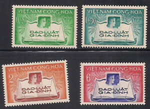 Vietnam-S.   1960   Sc # 128-31   MNH   (1-029)
