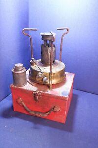 Vintage Original Brass Burmos Primus Paraffin Cooking Stove