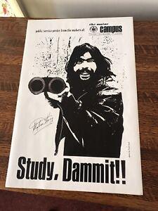 Stephen King Signed Broadhead UMaine
