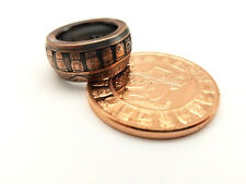 Mayan Calendar coin ring. Made from pure.999 copper coin. Good luck ring