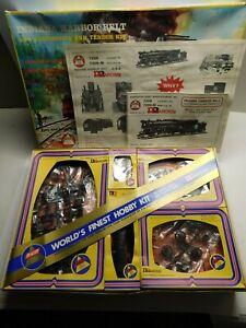 O Scale - Rivarossi Indiana Harbor Belt Steam Locomotive & Tender Train Kit NIB