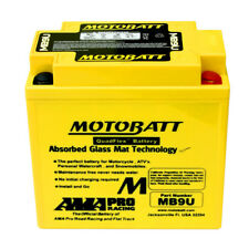 MOTOBATT mb9u AGM haute puissance amélioration Batterie GEL YB9A YB7A