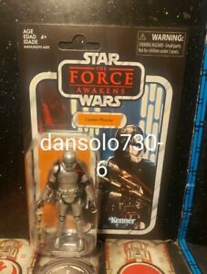 Star Wars Vintage Collection CAPTAIN PHASMA VC142  **very minor flaw**