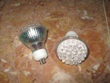 6 AMPOULES LED GU10 30LEDS 220V 1,8W cold white ECONOMIQUE 30W 6000-6500K 140lm