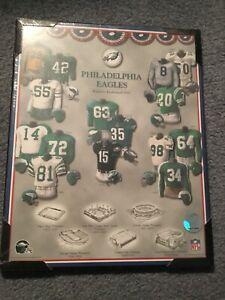 "NFL Philadelphia Eagles 11"" X 14"" Framed Picture 1933- Present"