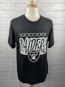 VTG 1996 NFL Oakland Raiders Football Size Large L Vintage T-Shirt Tee 90s