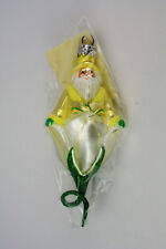 Patricia Breen Christmas Ornament Bluebell Santa Yellow # 9995 New In Package