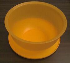 Tupperware Junge Welle 7,5 l XXL Schüssel mit Deckel Orange Neu
