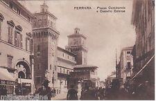 # FERRARA: PIAZZA COMMERCIO E CASTELLO ESTENSE