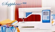 Husqvarna Viking Sapphire 930 Sewing Machine Brand NEW with 5 year warranty