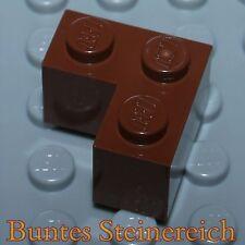 2 x Brunnen Stein 48092 Lego City Viertel Rundstein 4x4 in neu Braun