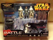 Star Wars Assault On Hoth Battle Pack Probot Blaster Cannon Snowtrooper New