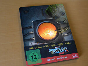 Marvel Guardians of the Galaxy Vol. 2 Limited Edition Steelbook [3D 2D Blu-ray]