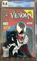 Venom: Lethal Protector #1 CGC 9.4 NM NEWSSTAND VARIANT