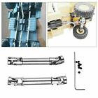 Metal Driving Shaft Upgrade Part For WPL HengLong Military Truck 1/16 1/24 RC 2x