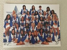 1998~1999 Dallas Cowboys Cheerleaders America's Sweethearts 8x10 Photo Bio Card