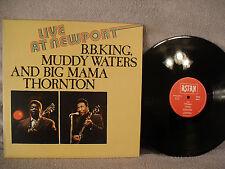 B.B. King, Muddy Waters, Big Mama Thronton, Live At Newport, Astan 20039, 1984