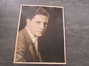Original Ivor NOVELLO Welsh Actor Large 11 x 14 inch Photo #3