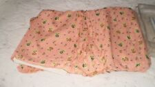 New in Package FLORAL PINK PINE CONE HILL COTTON ADELINE Bed Skirt SIZE FULL