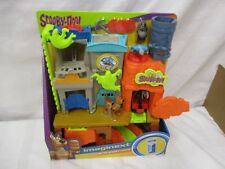 Fisher price Imaginext Scooby Doo Ghost Town Haunted NEW Miner 49 barrels cart