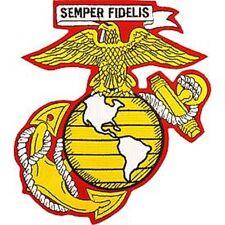 USMC - SEMPER FIDELIS - EMBROIDERED PATCH - NEW