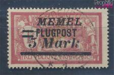 zona del Memel 105 usado 1922 Correo aéreo (8062899