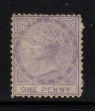 GB Colony Dominica 1874 Sc 1 - QV - Crown CC Watermark - Perf.=12.5 - MNH