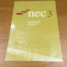 NEC3 Framework Contract (June 2005) by ICE Publishing (Paperback, 2005)