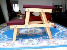 Spanking Bench New Design - flat pack self assy. easily taken apart for storage