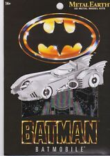 Fascinations Metal Earth 3D Laser Cut Steel Model Kit - Batman 1989 Batmobile