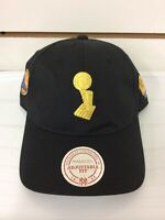 Mitchell & Ness Golden State Warriors Trophy Championship Snapback Cap Black