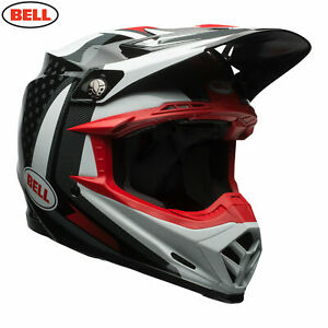 BELL MOTO 9 CARBON FLEX HELMET VICE BLACK WHITE CHEAP NEW MOTOCROSS MX OFF ROAD