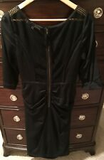 Tracey Reese Black Dress new Without Tags Size 12