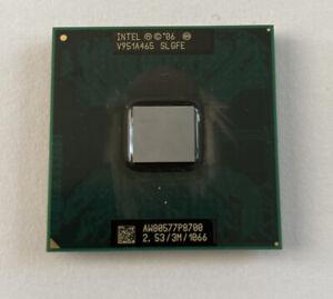 Processeur Intel Core 2 Duo P8700  2,53Ghz 3m Cache  SLGFE