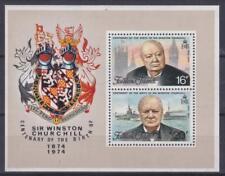 Falkland Islands 1974 Souv. Sheet #236a Sir Winston Churchill (1874-1965) - MNH