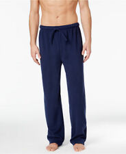 Club Room Men's Fleece Blue Solid Size-Large Pajama Lounge Pant