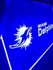 Miami Dolphins LED Sign for Game Room,Office,Bar,Man Cave Super NEW