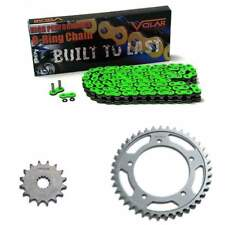 2001-2005 Suzuki GSXR 600 O-Ring Chain and Sprocket Kit - Green