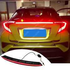 For Toyota C-HR 2018 2019 Rear Door Wing Spoiler w/ Brake & Turn Signal Light