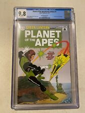PLANET OF THE APES/GREEN LANTERN #1 CGC 9.8 SHOWCASE #22 VARIANT COVER