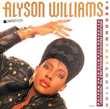 "Alyson Williams ‎12"" I Second That Emotion - Europe (VG+/EX)"