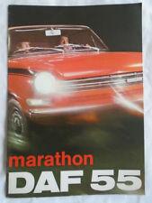 Daf 55 Marathon brochure Jan 1972